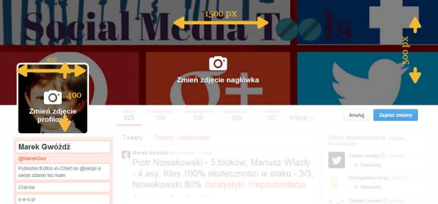 social media twitter size