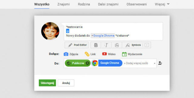 editor googleplus