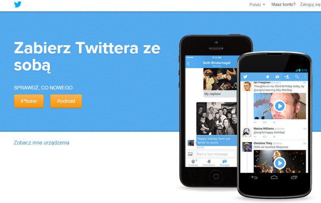 twitter portale społecznościowe
