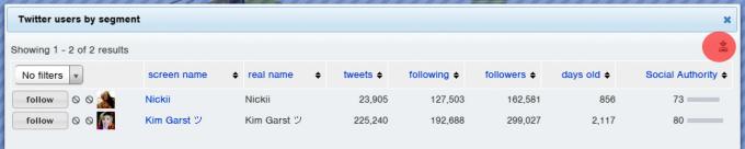 2 followerwonk export data