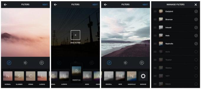 filtry Instagram 2