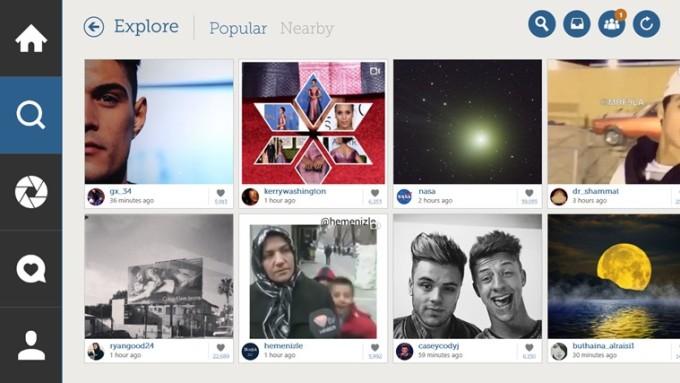 Podejrzyj swoją oś czasu i zobacz na najpopularniejsze posty. fot. apps.microsoft.com