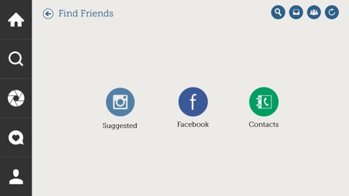 Znajdź swoich znajomych poprzez Facebooka lub poprzez listę adresów mailowych. fot. apps.microsoft.com