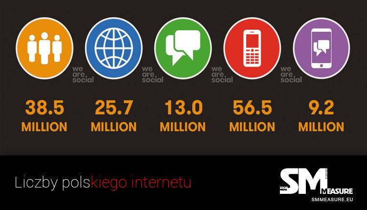 Liczby Polskiego Internetu