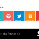 Jak dodać inne kanały społecznościowe na fanpage?