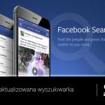 Odpicowana wyszukiwarka Facebook'a