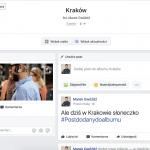 Facebook: Dodawanie postów i Check-in do albumu